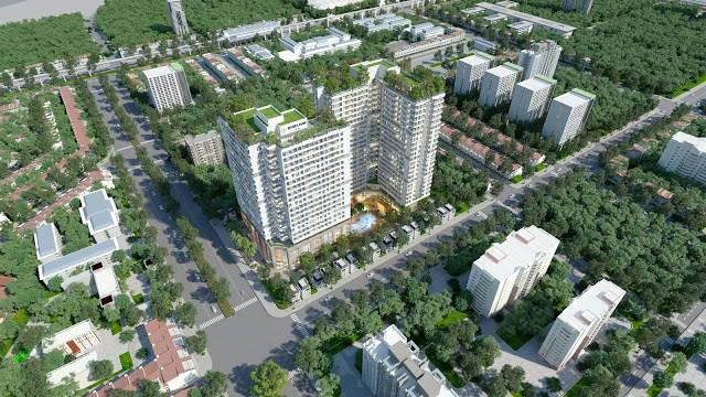 Căn hộ chung cư Đông Bắc Tower