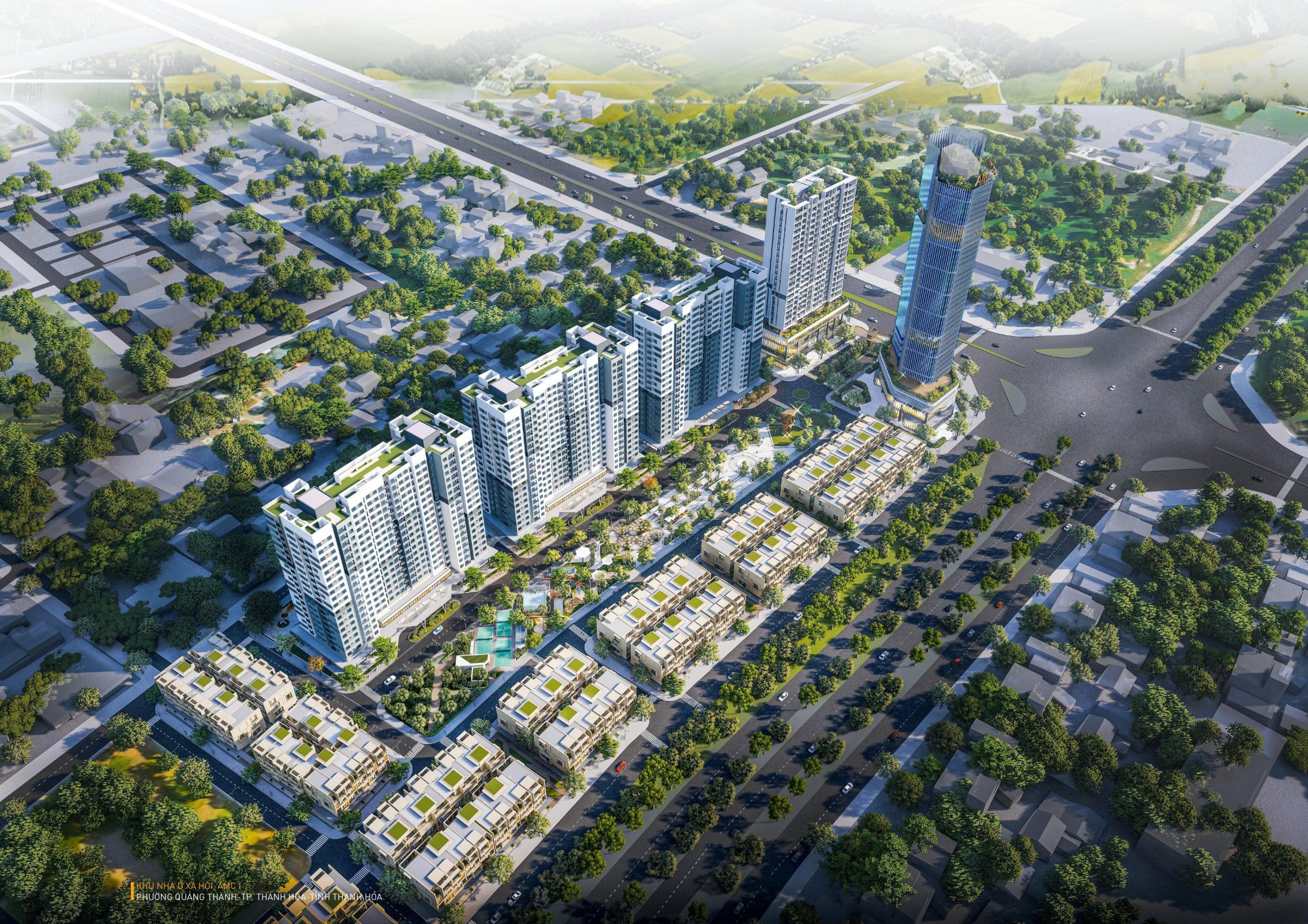 Dự Án Stella City  – Nhà ở xã hội AMC 1 Quảng Thành