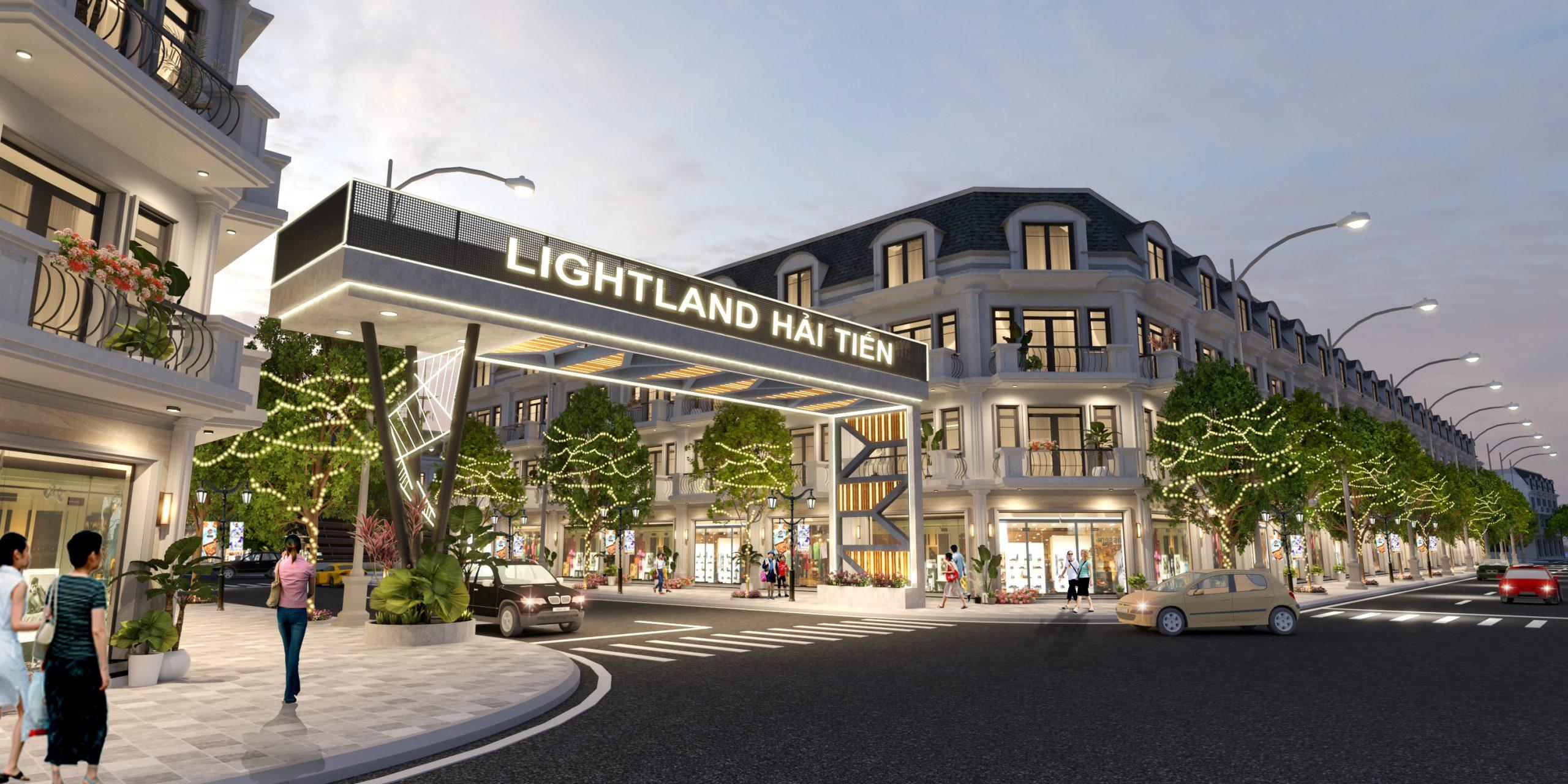 Khu dân cư thương mại & chợ Vực – Lightland Hải Tiến