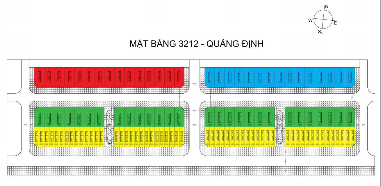 Mặt bằng 3212 Quảng Định