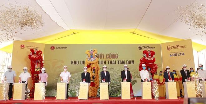 T&T Group khởi công xây dựng khu du lịch sinh thái biển Tân Dân tại Nghi Sơn – Thanh Hóa